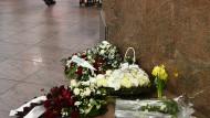 Brüssel gedenkt der Terroranschläge vor einem Jahr