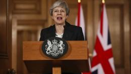EU-Austritt nach 30. Juni kommt für May nicht infrage
