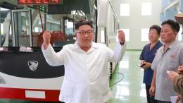 Nordkorea baut wohl weiterhin Interkontinentalraketen