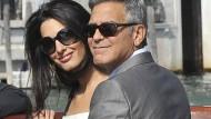 Er hat sich endlich getraut: George Clooney und seine Auserwählte Amal Alamuddin haben sich das Ja-Wort gegeben.