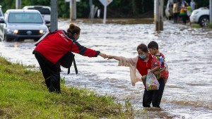 Schwere Überschwemmungen in Thailand