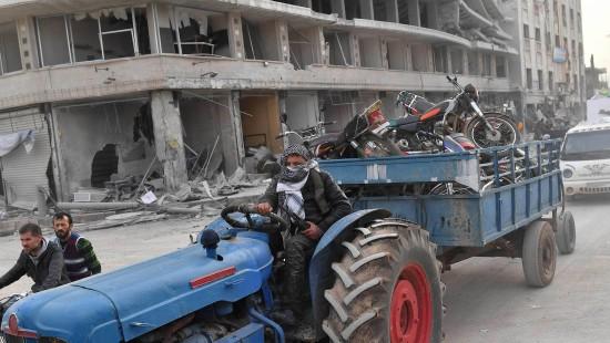 Chaos und Plünderungen in Afrin