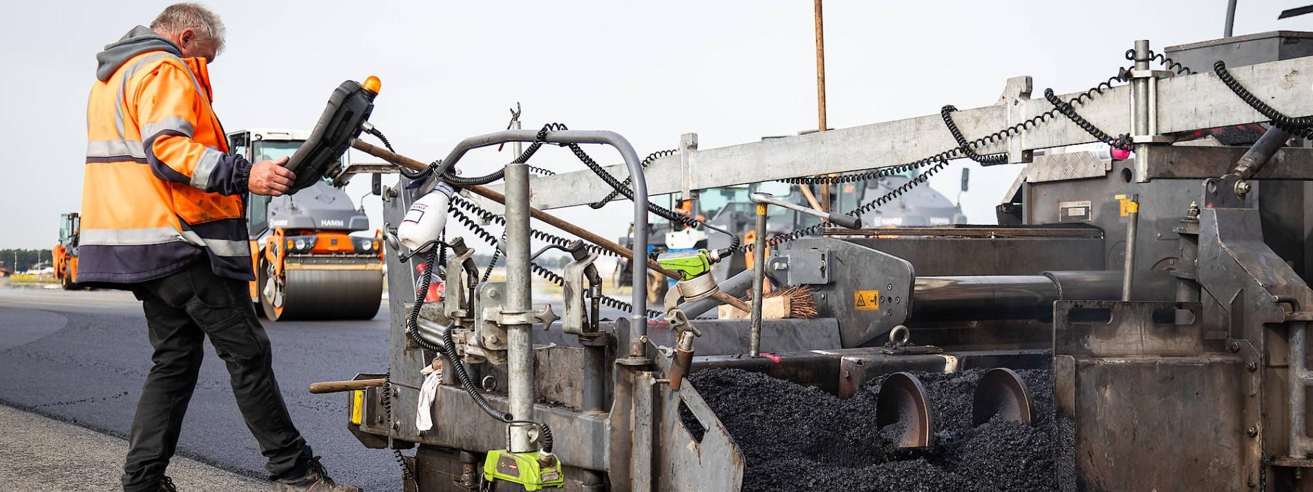 50.000 Tonnen Asphalt in Bewegung