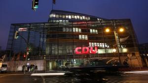 Mehrheit gegen Kurswechsel der CDU