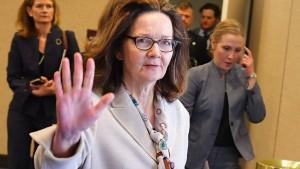 CIA-Kandidatin Haspel schwört Folter ab