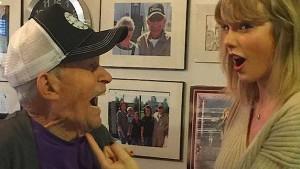 Taylor Swift überrascht 96 Jahre alten Fan