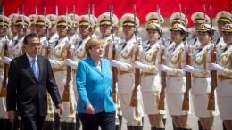 Merkel: Dialog mit China in allen Bereichen