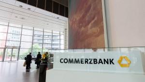 Razzia bei der Commerzbank