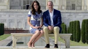 William und Kate erinnern an berühmtes Diana-Bild