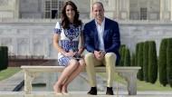 """Kate und William auf dem """"Sitz von Lady Diana"""""""