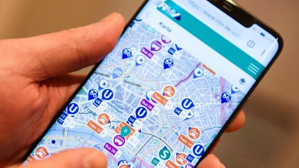 Eine App für alle Verkehrsmittel