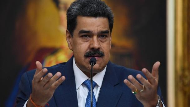 Vereinigte Staaten loben 15 Millionen Dollar für Festnahme Maduros aus