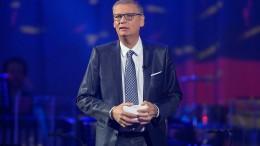 Günther Jauch mit Corona infiziert