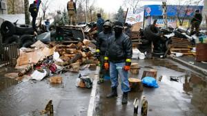 """Ukraine beginnt """"Anti-Terror-Einsatz"""" gegen Separatisten"""