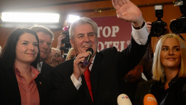 Czech Republic's  first  direct presidential elections