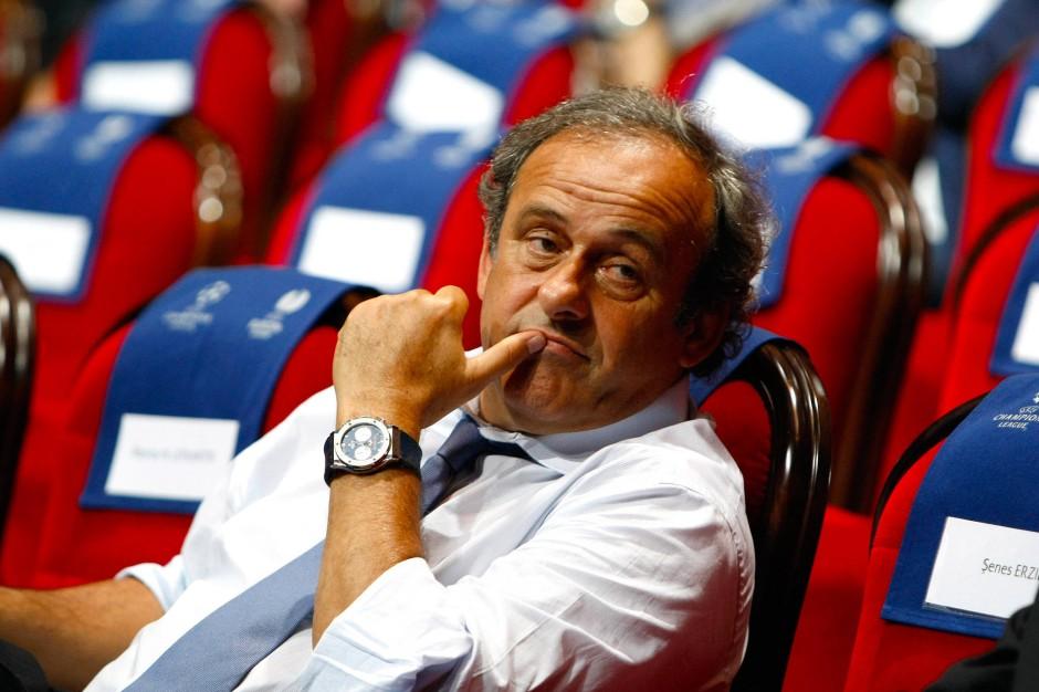Kein Verständnis für seinen unwilligen Landsmann: Uefa-Präsident Michel Platini