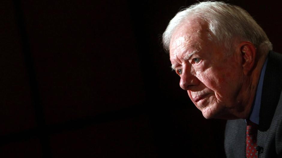Ex-Präsident Carter im Krankenhaus