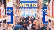 Ein Metro-Markt in Russland