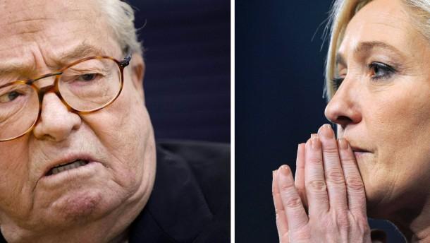 Le Pen verstößt seine Tochter