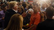 Trump besucht Puerto Rico
