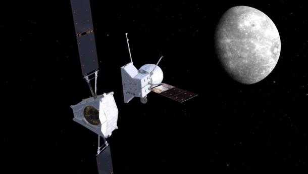 Auf dem Weg zum Merkur