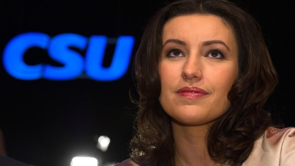 Dorothee Bär, Familienpolitische Sprecherin der CDU/CSU-Bundestagsfraktion und stellvertretende Generalsekretärin der CSU