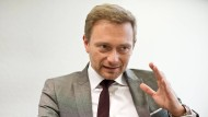 Christian Lindner im F.A.Z.-Interview