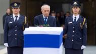 Israel nimmt Abschied von Ariel Scharon