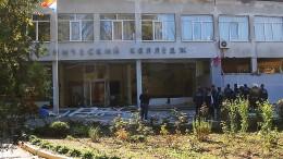 Bombe tötet zahlreiche Schüler