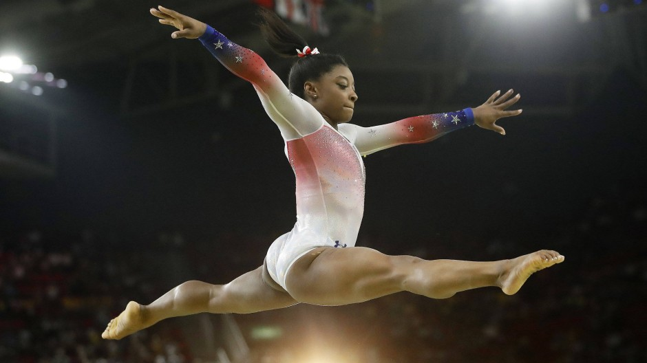 Hacker beschuldigen Simone Biles des Dopings