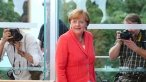 Merkel nennt Flüchtlingskrise nationale Aufgabe