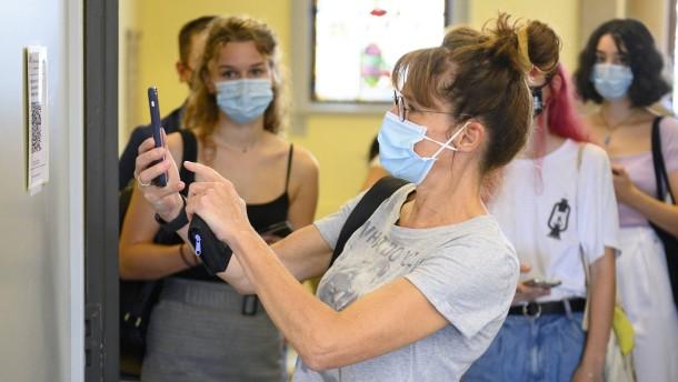 Mit QR-Code gegen die Pandemie
