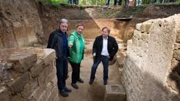 Gerangel um römische Reste