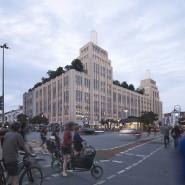 Am Hermannplatz in Berlin-Neukölln soll das Karstadt-Gebäude von 1929 wiedererstehen, Einzelhandel wird aber nur eine untergeordnete Rolle spielen.