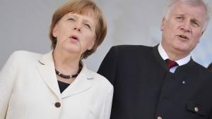 Merkel und Seehofer wollen Beziehungskrise besprechen