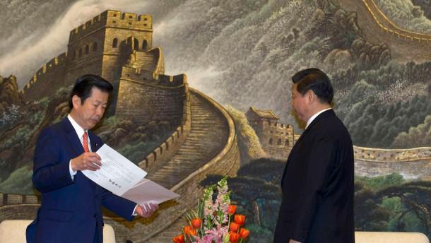 Xi Jinping empfängt japanischen Politiker