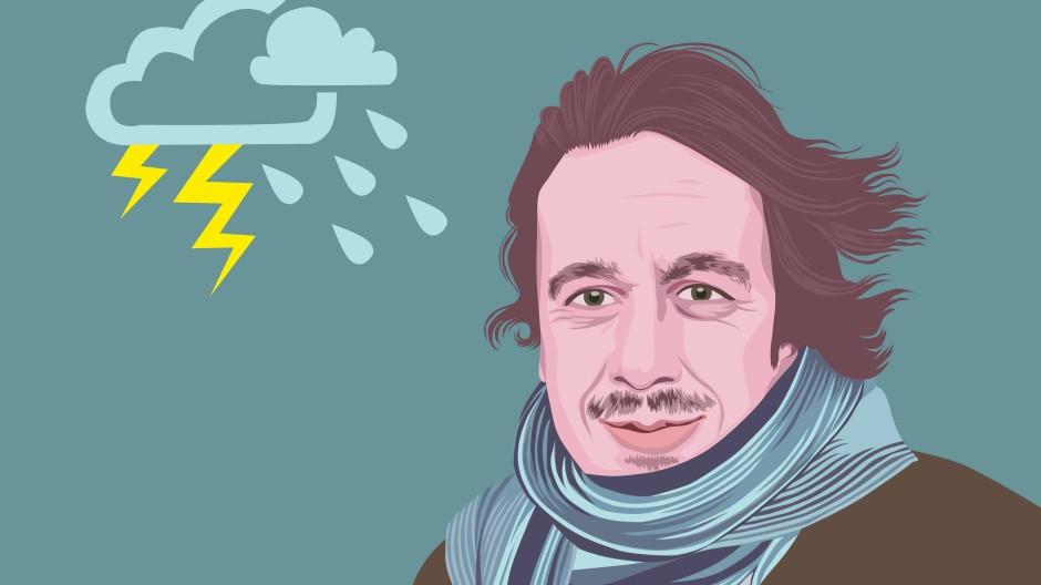 Jörg Kachelmann war der Erste, der das Wetter auch für Doofe erklären konnte.
