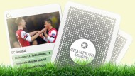 Das große Champions-League-Quartett