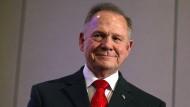 Roy Moore ist der Senatskandidat für die Republikaner in Alabama