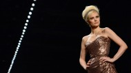 Mode im Stil der 50er Jahre auf der Fashion Week