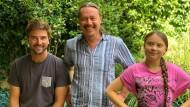 Bald in einem Boot: Boris Herrmann, Svante und Greta Thunberg.