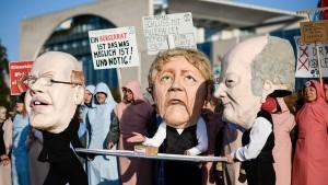 Umweltschützer blockieren Berlin