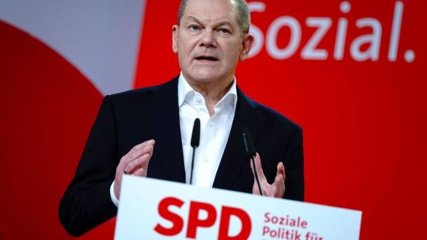 Scholz will höhere Steuern für Besserverdienende