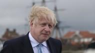 Der britische Premierminister Boris Johnson in Hartlepool. In der früheren Labour-Hochburg gewannen die Konservativen eine Nachwahl für das Parlament.