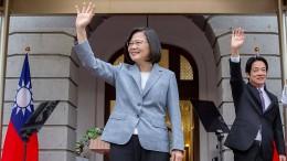 """Präsidentin Tsai fordert """"Koexistenz"""""""