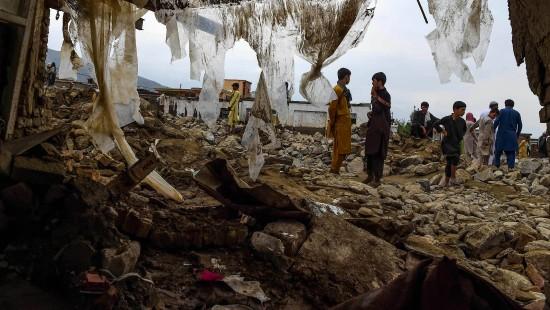Sturzfluten in Afghanistan zerstören hunderte Häuser