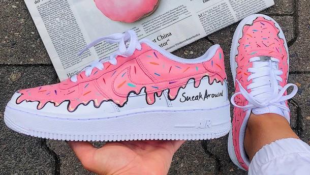 Sneaker zum Anbeißen