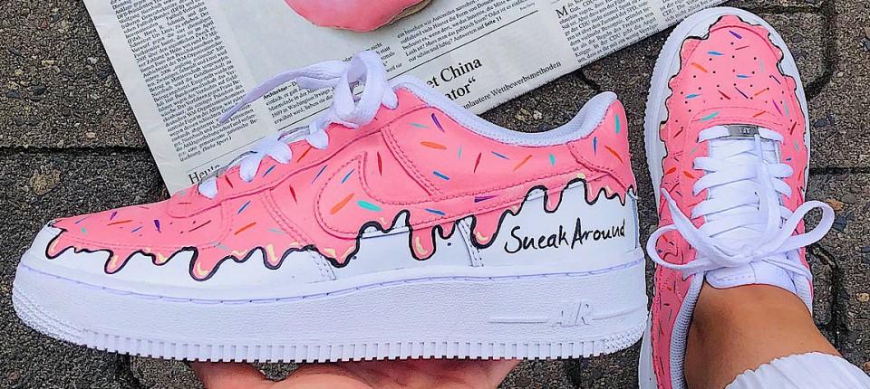 """Nike Air Force 1 X Born Originals """"Sugarcoating"""": Sneaker"""