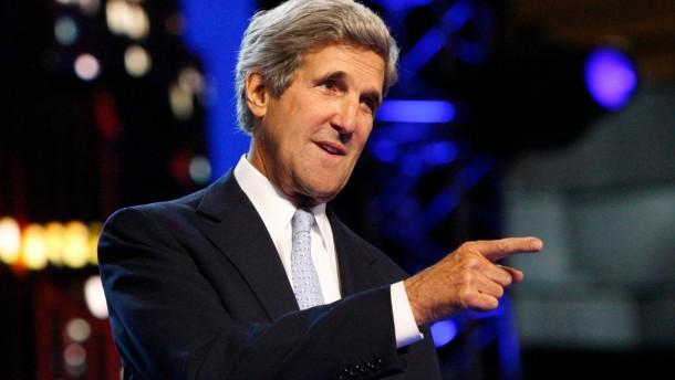 Kerry soll Clinton als Außenminister nachfolgen