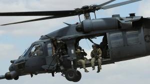Militärhubschrauber abgestürzt